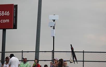 Bandimere Speedway. WiFi на трибунах.
