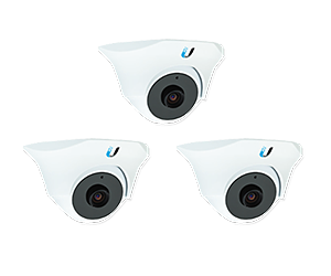 Уличная IP-камера Ubiquiti UniFi Video Camera Dome 3-pack