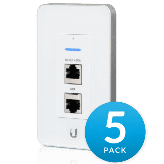 Точка доступа Ubiquiti UniFi AP In-Wall 5 pack